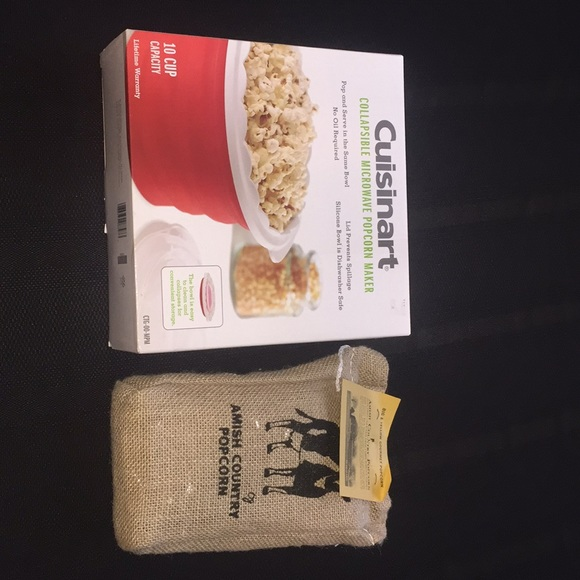 135e0b37fe7 Cuisinart and Amish Country Popcorn brand new!!